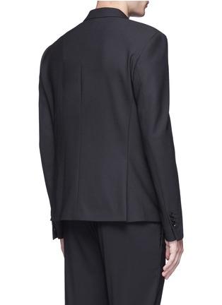 背面 - 点击放大 - NEIL BARRETT - 修身袋巾混羊毛西服外套