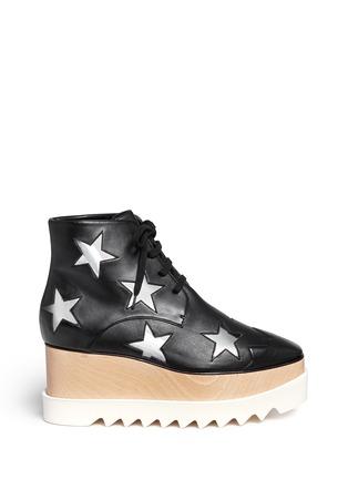首图 - 点击放大 - STELLA MCCARTNEY - ELYSE星星装饰坡跟系带鞋