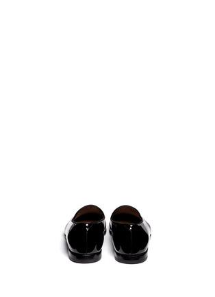 背面 - 点击放大 - GIORGIO ARMANI SHOES - 漆皮乐福鞋