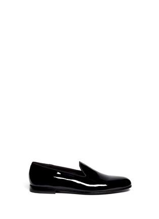 首图 - 点击放大 - GIORGIO ARMANI SHOES - 漆皮乐福鞋