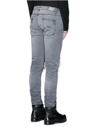 背面 - 点击放大 - Amiri - 磨破补丁修身牛仔裤