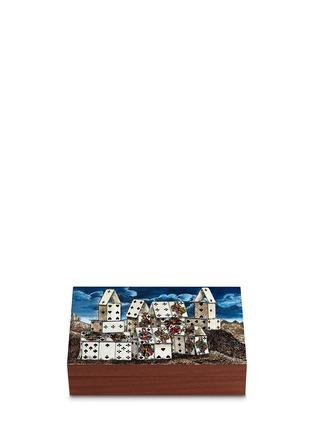 首图 –点击放大 - Fornasetti - Città di Carte扑克牌游戏盒套装