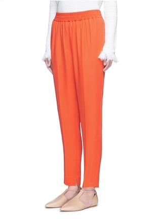 正面 - 点击放大 - 3.1 PHILLIP LIM - 单色绉绸长裤