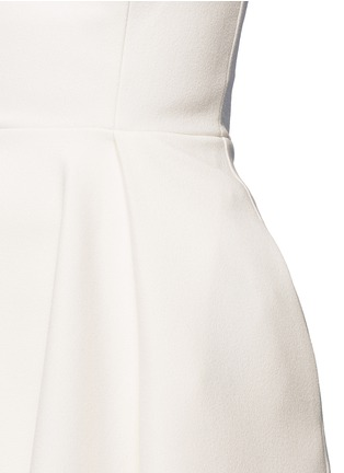 细节 - 点击放大 - NICHOLAS - 单色绉绸抹胸上衣