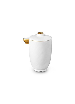首图 –点击放大 - L'OBJET - HAN镀金白瓷酱料瓶