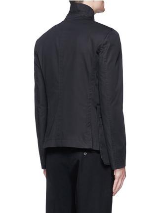 背面 - 点击放大 - Alexander McQueen - 纹身图案刺绣纯棉外套