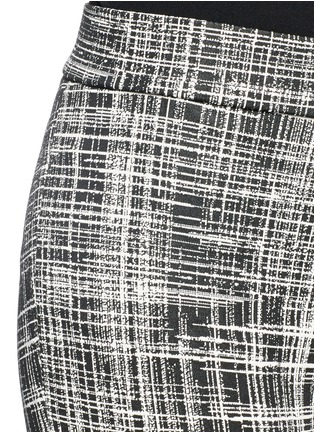细节 - 点击放大 - THEORY - ADBELLE K抽象格纹弹力紧身裤