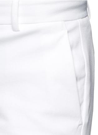 细节 - 点击放大 - THEORY - IZELLE C小开衩混棉九分裤