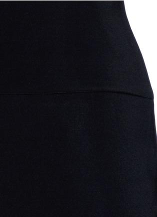 细节 - 点击放大 - NORMA KAMALI - 高腰低裆五分裤