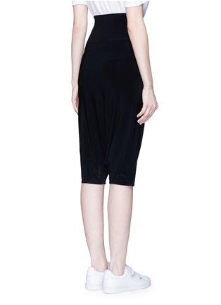 背面 - 点击放大 - NORMA KAMALI - 高腰低裆五分裤