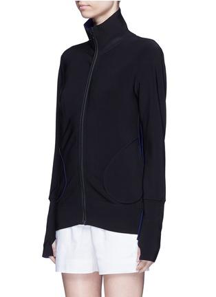 正面 -点击放大 - NORMA KAMALI - 拼接设计两面穿夹克