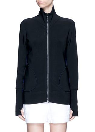 首图 - 点击放大 - NORMA KAMALI - 拼接设计两面穿夹克