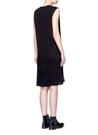 背面 - 点击放大 - T BY ALEXANDER WANG - CLASSIC叠搭无袖连衣裙