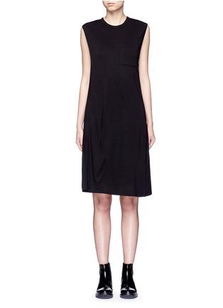 首图 - 点击放大 - T BY ALEXANDER WANG - CLASSIC叠搭无袖连衣裙