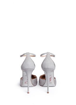 背面 - 点击放大 - RENÉ CAOVILLA - T形搭带仿水晶装饰细跟鞋