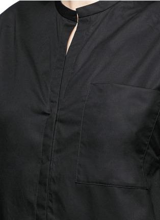 细节 - 点击放大 - ISABEL MARANT  - 褶裥纯棉府绸上衣
