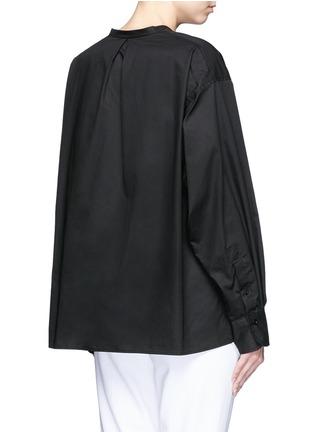 背面 - 点击放大 - ISABEL MARANT  - 褶裥纯棉府绸上衣