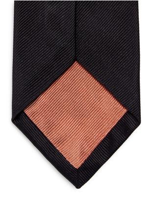 细节 - 点击放大 - PAUL SMITH - 单色真丝领带