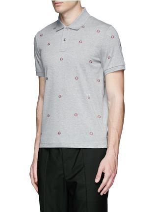 正面 -点击放大 - MONCLER - 品牌刺绣纯棉POLO衫