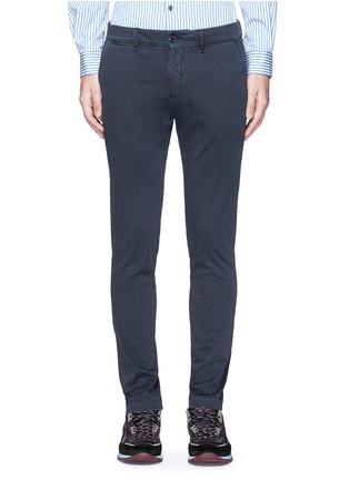 首图 - 点击放大 - Moncler - 单色棉质长裤