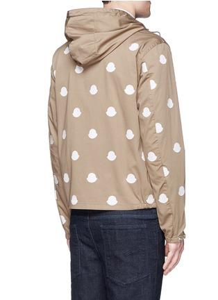 背面 - 点击放大 - MONCLER - 徽章拼贴装饰棉质夹克