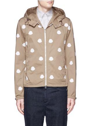 首图 - 点击放大 - MONCLER - 徽章拼贴装饰棉质夹克
