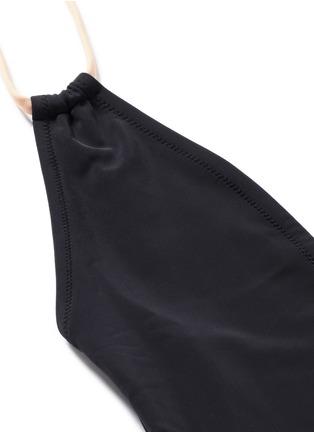 细节 - 点击放大 - SOLID & STRIPED - ALEXANDRA拼色露背连体泳衣