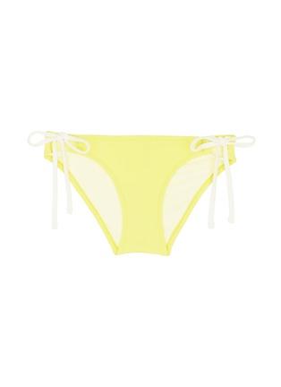 首图 - 点击放大 - SOLID & STRIPED - LILY拼色系带比基尼泳裤