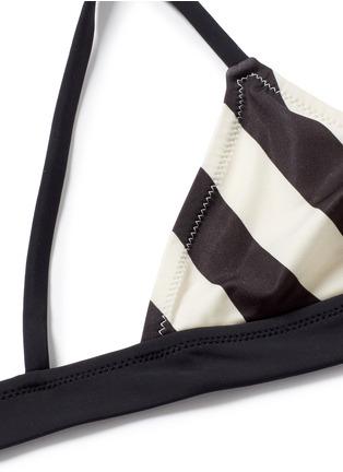 细节 - 点击放大 - SOLID & STRIPED - MORGAN条纹比基尼泳衣