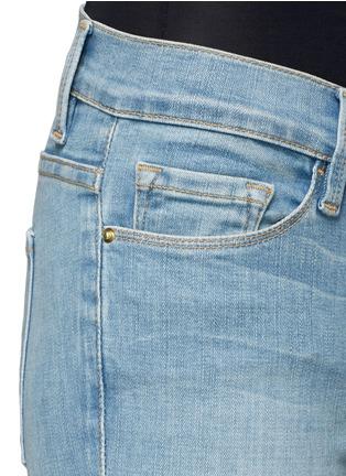细节 - 点击放大 - FRAME DENIM - Le skinny修身弹性牛仔裤