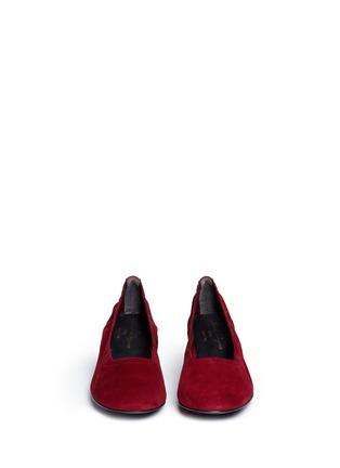 正面 - 点击放大 - CLERGERIE - POKET花纹方跟高跟鞋