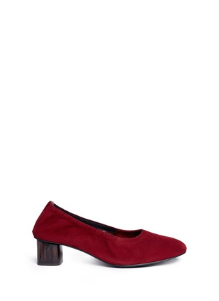 首图 - 点击放大 - CLERGERIE - POKET花纹方跟高跟鞋