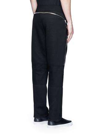 背面 - 点击放大 - GIVENCHY - 拉链装饰太空棉休闲长裤