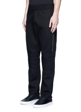 正面 -点击放大 - GIVENCHY - 拉链装饰太空棉休闲长裤