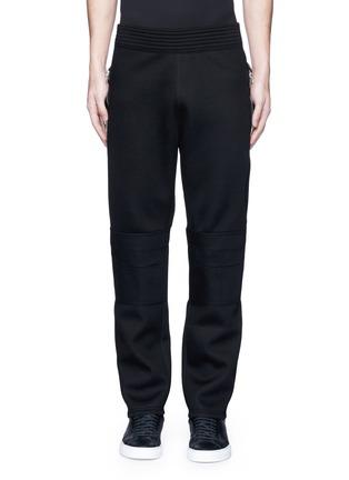 首图 - 点击放大 - GIVENCHY - 拉链装饰太空棉休闲长裤