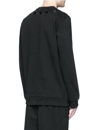 背面 - 点击放大 - GIVENCHY - 荊棘刺绣纯棉卫衣