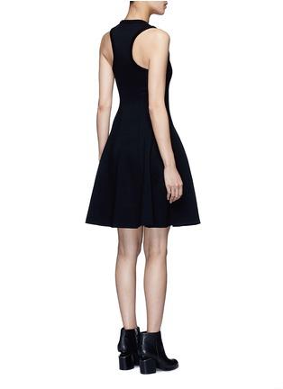 背面 - 点击放大 - alexanderwang.t - 单色混棉连衣裙