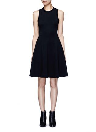 首图 - 点击放大 - alexanderwang.t - 单色混棉连衣裙