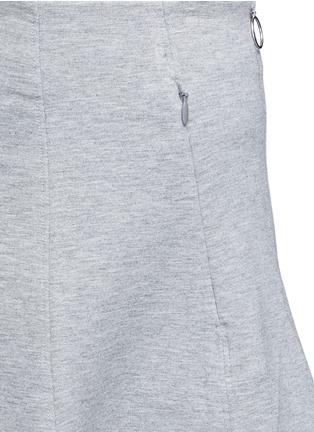 细节 - 点击放大 - ALEXANDERWANG.T - 单色混棉半身裙