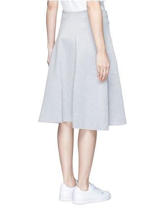 背面 - 点击放大 - ALEXANDERWANG.T - 单色混棉半身裙