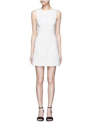 首图 - 点击放大 - T BY ALEXANDER WANG - 单色棉质丹宁连衣裙