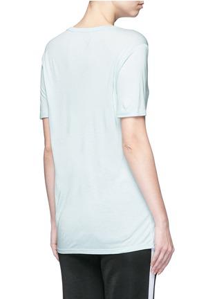 背面 - 点击放大 - ALEXANDERWANG.T - CLASSIC单色胸袋T恤