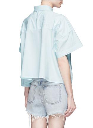 背面 - 点击放大 - ALEXANDERWANG.T - 单色纯棉府绸衬衫