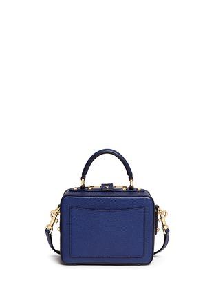 背面 - 点击放大 - DOLCE & GABBANA - Miss Rosalia荔枝纹真皮手提包