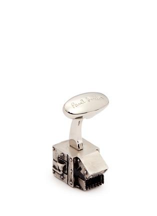 细节 - 点击放大 - PAUL SMITH - 机械人造型袖扣