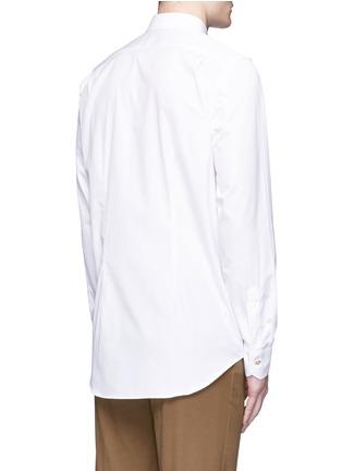 背面 - 点击放大 - Paul Smith - 彩色条纹拼接纯棉衬衫