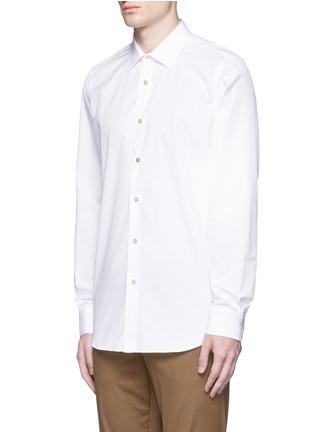 正面 -点击放大 - Paul Smith - 彩色条纹拼接纯棉衬衫