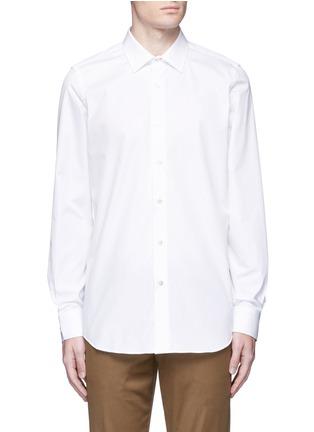 首图 - 点击放大 - Paul Smith - 彩色条纹拼接纯棉衬衫