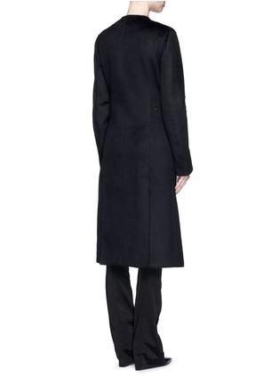 背面 - 点击放大 - ESTEBAN CORTAZAR - 按扣翻领羊绒长大衣