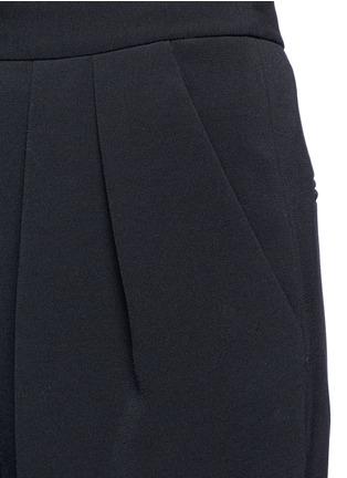 细节 - 点击放大 - ROKSANDA - 褶裥垂坠阔腿裤